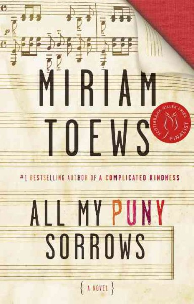 Cover: All my puny sorrows.