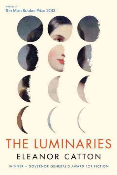 Cover: The luminaries by Eleanor Catton