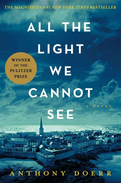 Cover: All the light we cannot see.