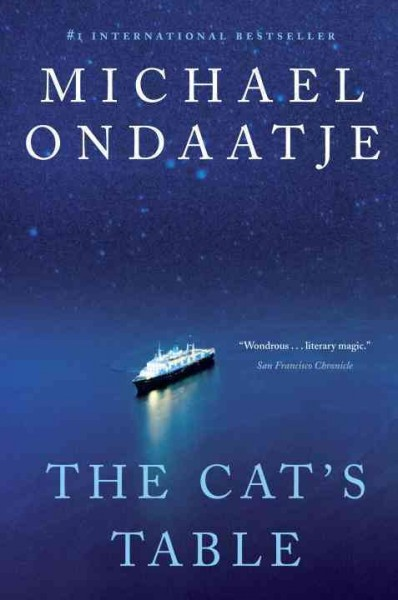 cover: the cat's table by Michael Ondaatje