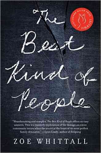 Cover: The best kind of people by Zoe Whittall