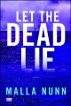 Go to record Let the dead lie : a novel