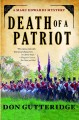 Go to record Death of a patriot : a Marc Edwards mystery