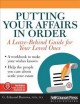 Go to record Putting your affairs in order : a leave-behind guide for y...